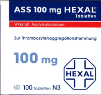 ASS 100 HEXAL Tabletten